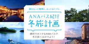 ANA - ANAバス紀行 冬旅計画のメインビジュアル