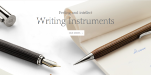 Graf von Faber-castell - Writing Instrumentsのメインビジュアル