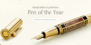 Graf von Faber-castell - Pen of the Yearのメインビジュアル