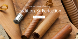 Graf von Faber-castell - Tradition & Perfectionのメインビジュアル