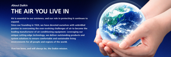 DAIKIN GLOBAL – THE AIR YOU LIVE IN